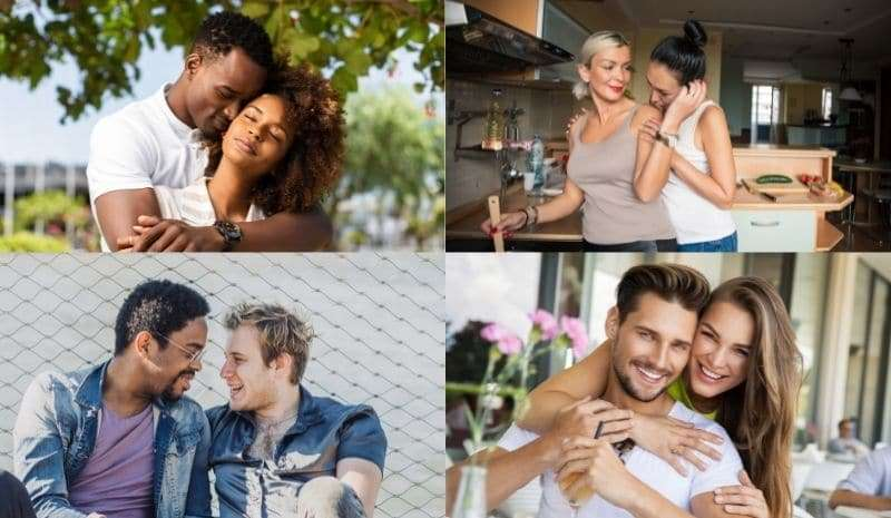 what is a soulmate described in pictures of couples